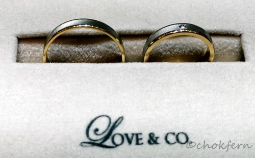 Love & Co. wedding band design 2