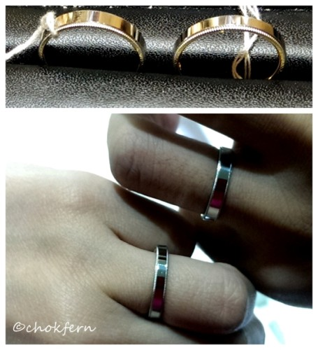 Soo Kee Wedding Band Design 2