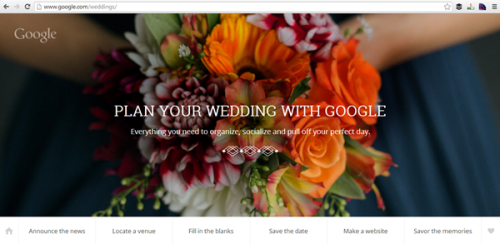 Google Wedding Planner