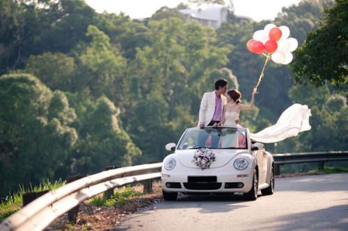 Wedding Car Option 1: Volkswagen New Beetle Cabriolet