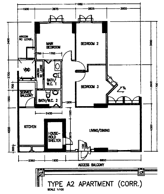 Our HDB Floor Plan