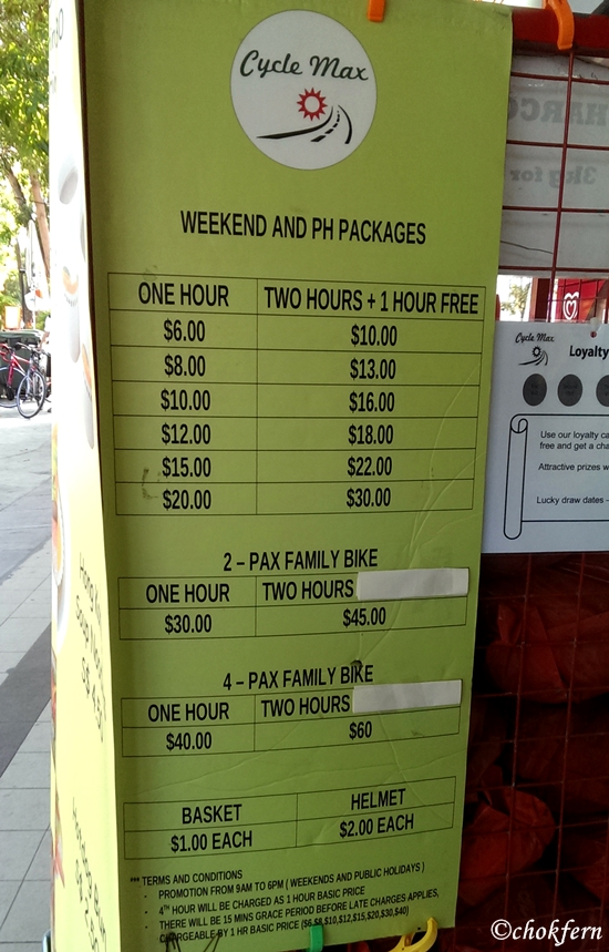 CycleMax Price List